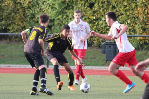 TuS B2-Jugend im Auswärtsspiel am Fibelweg. - Foto: abo.