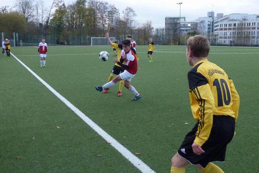 TuS B1-Jugendim Heimspiel gegen TuS Essen-West 81. - Foto: mal.