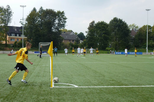 Hart erkämpftes und verdientes 2:2 Unentschieden für die B1-Jugend an der Ardelhütte. - Foto: mal.