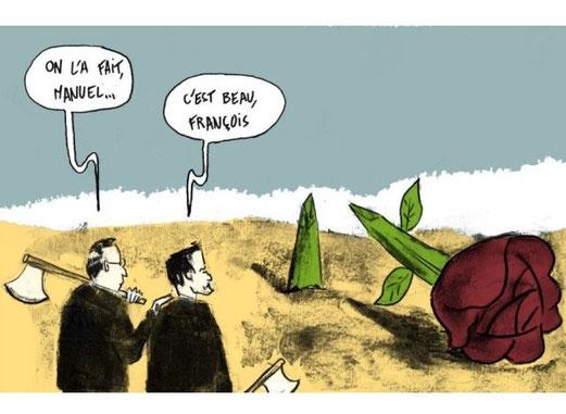 Illustration Léonce LUSSEAU pour le HuffPost