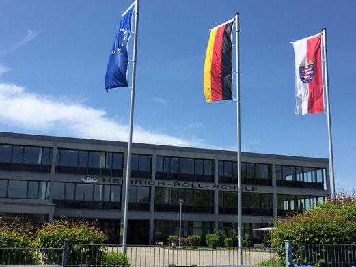Bild: Heinrich-Böll-Schule Rodgau, 8. Mai 2020