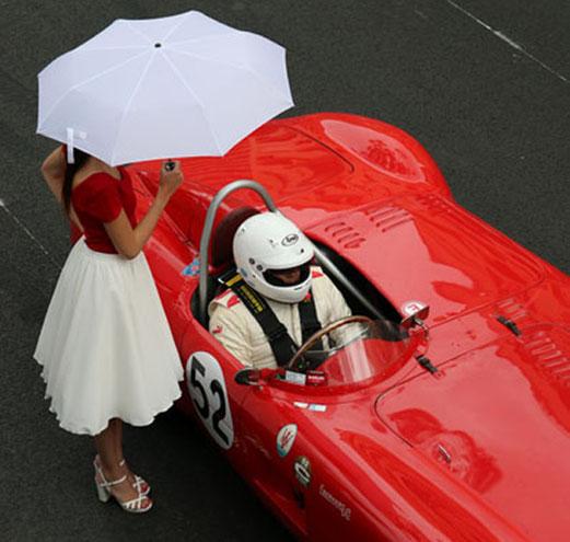 Monaco Grand Prix Start, die letzten Minuten in der Startaufstellung.