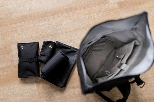 Vorteile Wickelrucksack und Zubehör Wickeltasche