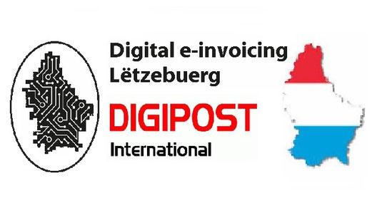 DIGIPOST Luxembourg Digital e-invoicing Lëtzebuerg Dématérialisation fiscale des factures au Luxembourg