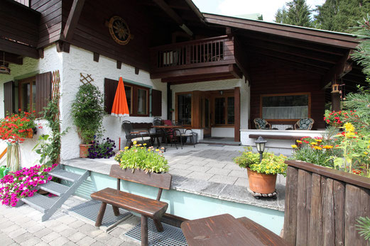 Unsere Terrasse - Haus Erika