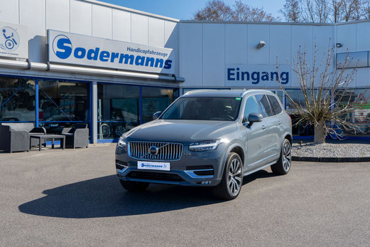 behindertengerechter Volvo XC90 Beifahrerumbau, Turny, Hub-Schwenksitz, Sodermanns