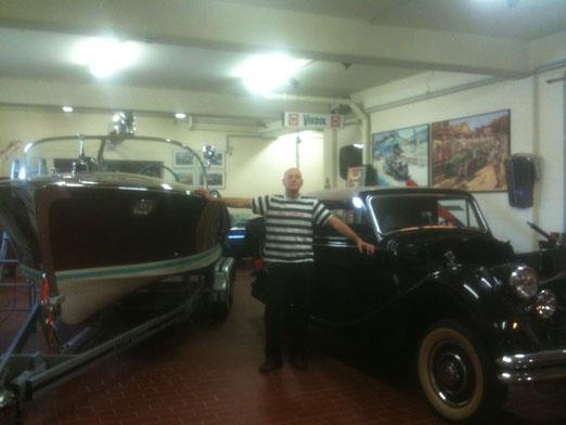 Heistracher Sportboot, Daimler 1938