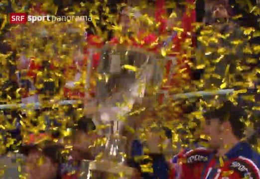 """05. Februar 2018 - Flüchtige Freuden. """"Gold und Silber lieb ich sehr..."""" SCRJ gewinnt den Cupfinal. (Das Bild vom Bild)"""