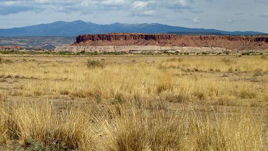 Fahrt durch das reizvolle Canocita-Indianerreservat.