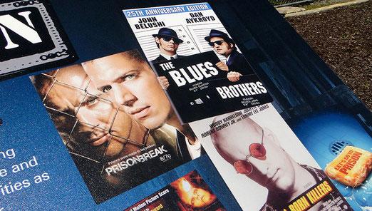 Im  ehemaligen Gefängnis von Joliet wurden Kultfilme und TOP-Fernsehserien gedreht (Blues Brothers, Prison Break etc.)