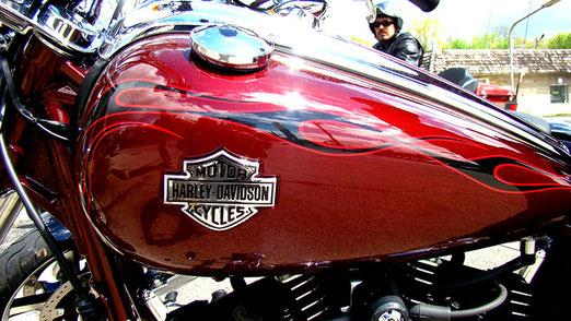 Ein erster Kontakt mit Harley-Davidson-Fahrern