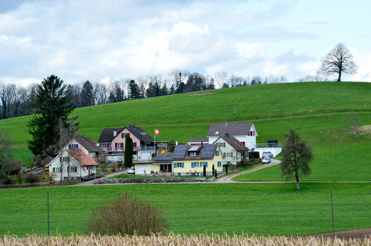 10. April 2018 - Es gibt sie noch, die heile Schweiz - zumindest in der Landschaft