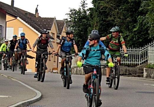 17. August 2019 - Mountainbiken, das Wandern unserer schnelllebigen Zeit