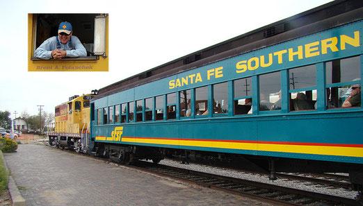 Brent A. Polanchek startet den Santa Fe Southern und ist bester Laune.