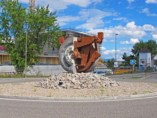Pratteln BL, Industrie (Foto: Paul Zurlinden, Reinach)