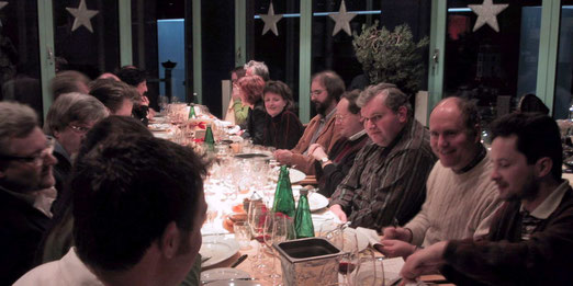 Verkostung von Bonneau-Weinen (Vertikale) in Graz am 17. Dezember 2005