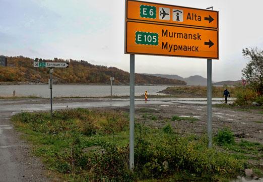 27. September 2019 - Kirkenes, Endstation der norwegischen Seefahrt - an der Grenze zu Russland.