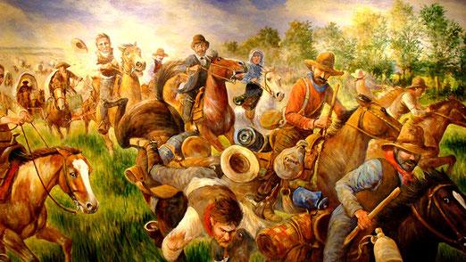 Im Museum of Pioneer History wird die Zeit dargestellt als Pioniere, das riesige Land erforschten - respektive eroberten