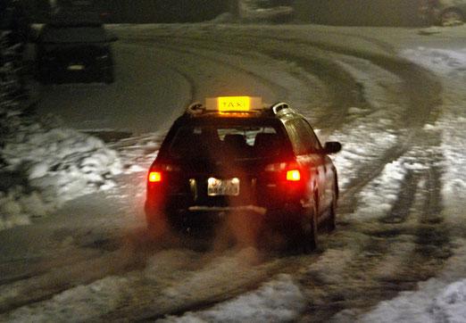 07. Dezember 2020 - Strassenkampf mit Eis und Schnee