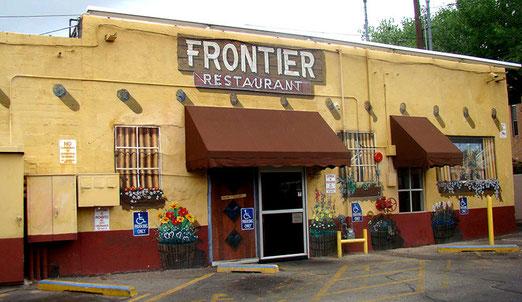 Am nächsten Morgen kam es zu einem Eclat im Frontier Restaurant in Albuquerque. (Auflösung morgen)
