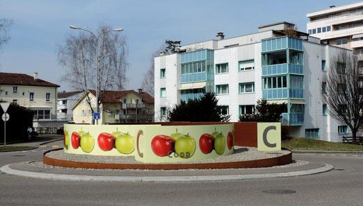 Beim Coop in Uzwil (SG) (Foto: Hans Weiss, Flawil)