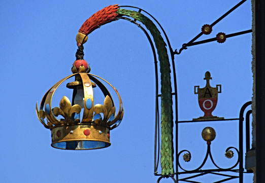 01. September 2019 - Anfang und das Ende. Wetterumschwung angedündigt. Noch leuchtet die Krone am blauen Himmel.