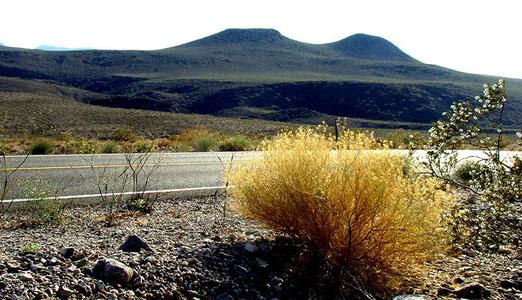Auf der Anfahrt zum Death Valley (Todestal)