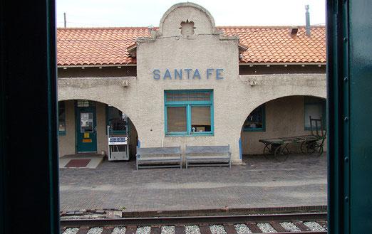 Der Bahnhof von Santa Fé