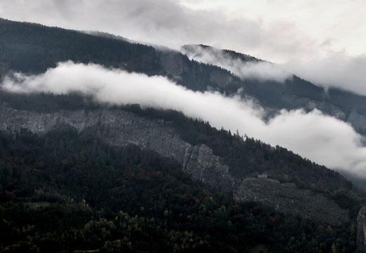 20. Oktober 2019 - Wenn sich Nebel niedersetzt