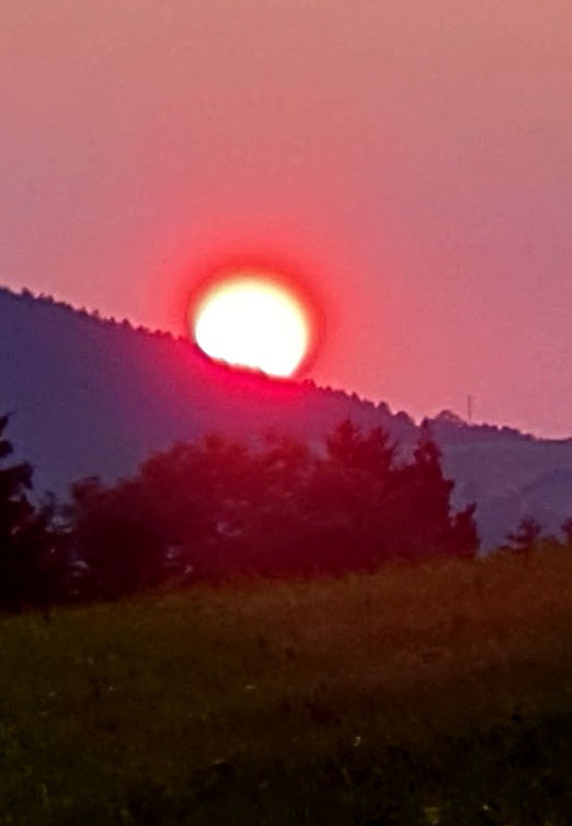 13. September 2020 - Oh sun of Walzenhausen, we now must say goodbye