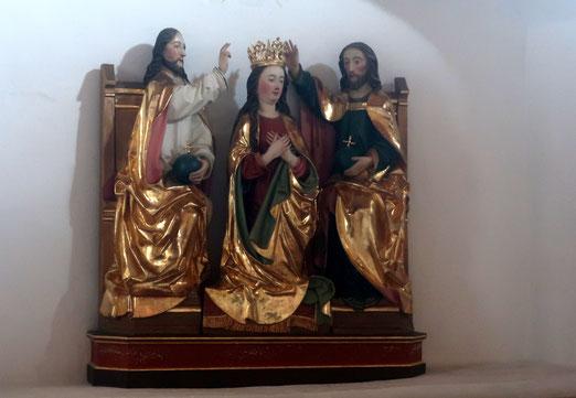 24. August 2021 - Maria Krönumg - Spätgotische Statue um 1500