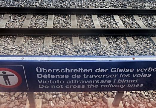 07. Juli 2018 - «Über Gleise gehen spart Zeit und kostet Leben»