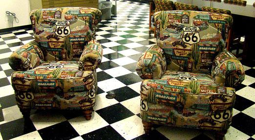 Kein Ausruhen auf dem Route 66 - Sofa. Wir ziehen mit frischem Elan weiter