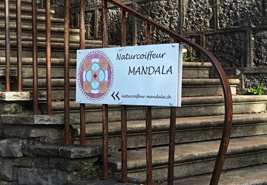 17. Mai 2018 - Weg zur Natur. ihr Mandala begleitet sie.