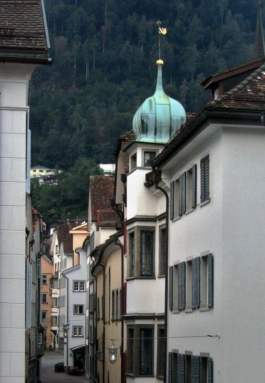 24. August 2019 -Eng verschachtelt eine Altstadt, wo Geschichten zur Geschichte wurden (Chur)