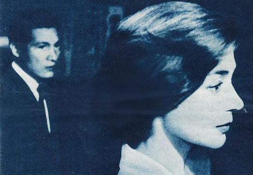 """Eine neuentdeckung, die von sich reden machen wird: Emmanuelle Riva als die Französin in Alein Resnais """"Hiroshima, mon Amour"""". Ihr natürliches und ausdrucksvolles Gesicht bleibt in lebendiger Erinnerung (Foto: Monopol)"""