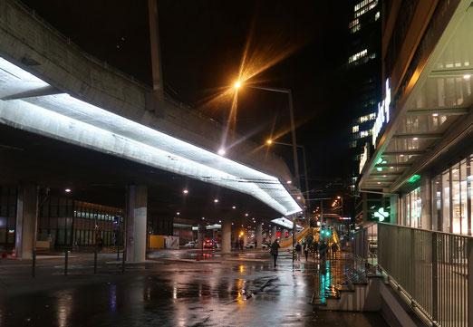 21. November 2017 - Lichter in der Beton-Stadt. (Kein Weihnachtsschmuck)