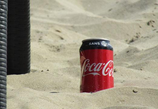 """18. Juli 2019 - """"Brennend heisser"""" Sand am Strand"""