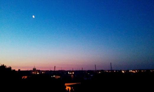 10. Juli 2018 - Blaue Nacht, oh blaue Nacht am Hafen...