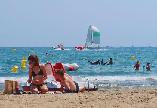 25. Juli 2017 - Am Mittelmeer