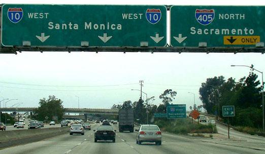 """Bald ist es geschafft. (""""Sacramento"""", es ist nur noch ein Katzensprung nach Santa Monica!."""
