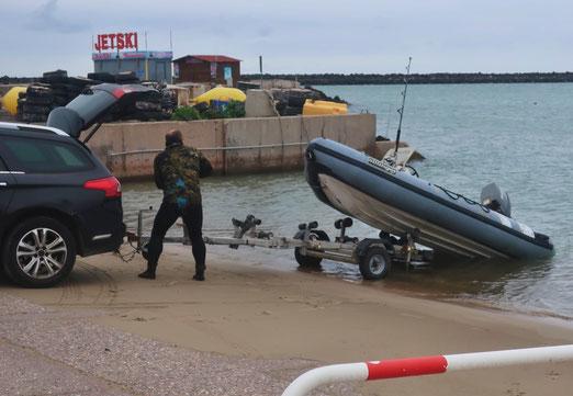 07. November 2019 - Raus aus dem Wasser. es ist zu kalt geworden