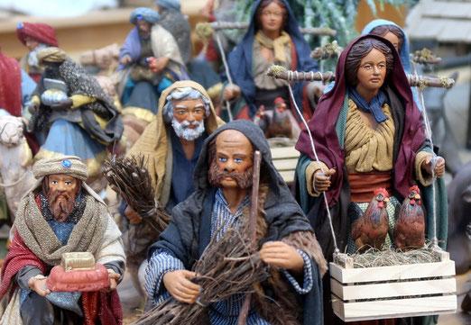 23. Dezember 2018 - Morgen ist Weihnacht. Der Tag im Leben der Krippenfiguren.
