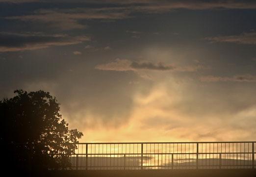 24. Oktober 2020 - Wenn der Regen mit der Sonne kämpft