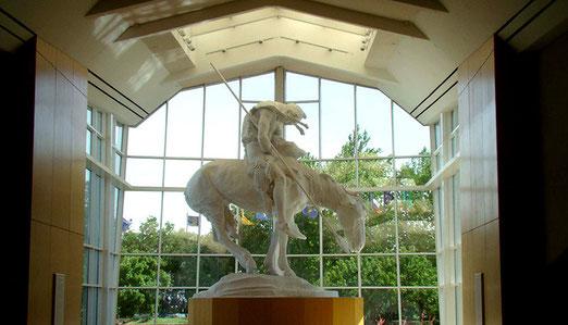 Das National Cowboy und Western Museum in Oklahoma-City ist etwas für Männer