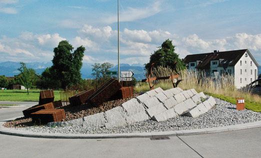 Rondelle zwischen Bubikon und Dürnten (beim Landi). (Foto: Peter Züllig, Bubikon)