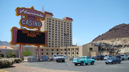 Ein Spielcasino mitten in der Wüste Nevadas.