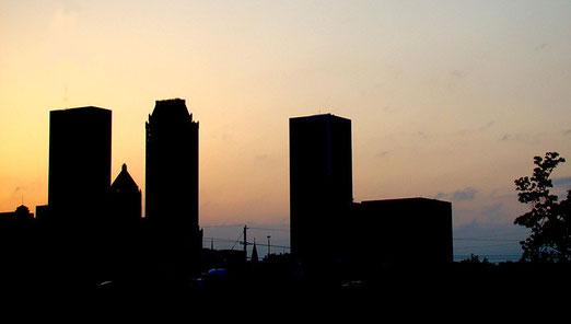 Wir erreichen am Ende des 9. Tages TULSA, die zweitgrösste Stadt Oklahomas, mit ca. 400'000 Einwohnern