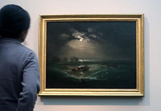 05. Oktober 2019 - Fischer auf See von Joseph Mallord William Turner. Eine Vsion, die nach 230 Jahren noch immer - oder wieder - bewundert wird.