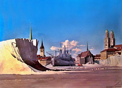 30. Mai 2020 - Heute vor 40 Jahren - Beginn der Opernhauskrawalle in Zürich - Eiszeit von Giuseppe Reichmuth